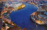 Bristol Harbour Evening