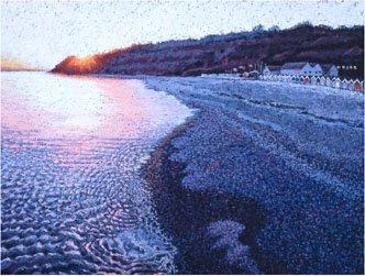 Beach Sunset, Lyme