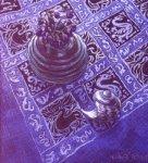 Blue Tablecloth