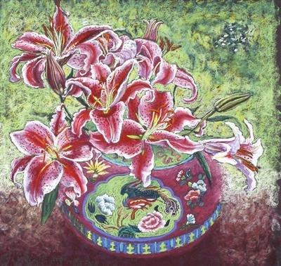 Crimson Lillies