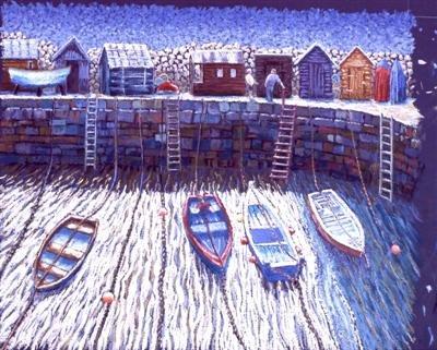 Fishermen's Huts