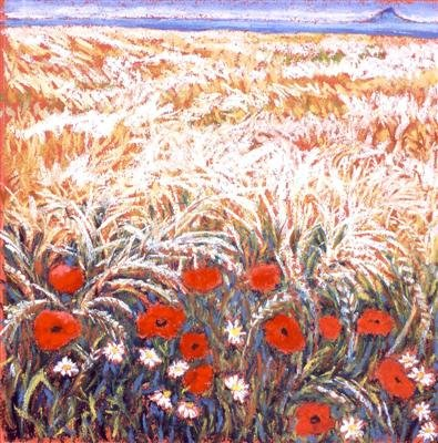 Poppies and Barley
