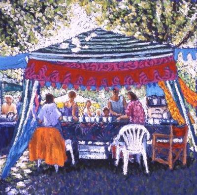Tea Tent in the Park